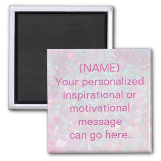 Message de motivation fait sur commande aimant