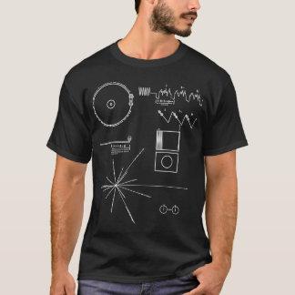 Message de Voyager T-shirt