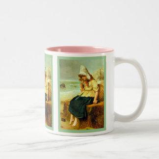 Message du ~ John Everett Millais de mer Mug Bicolore