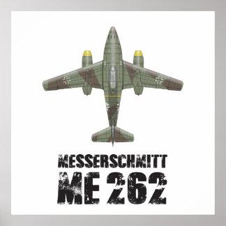 MESSERSCHMITT ME262 SCHWALBE POSTERS