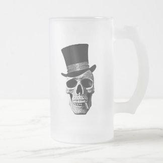 messieurs de Mort-tête Mug En Verre Givré