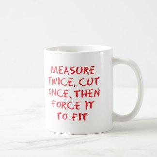 Mesure et force mug