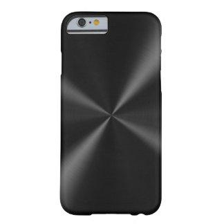 Métal balayé par noir coque barely there iPhone 6