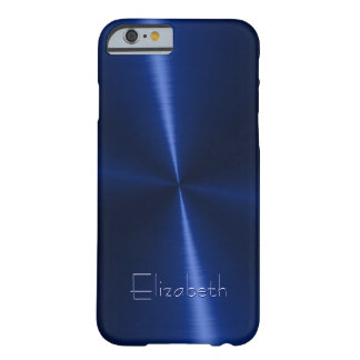 Métal en acier radial brillant frais coque iPhone 6 barely there