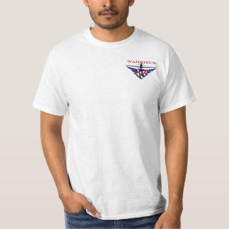 métal lourd de mustang de p-51b t-shirt