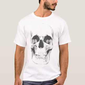 Métal ou Goth de T-shirt de crâne