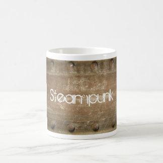 Métal rayé rouillé, Steampunk Mug
