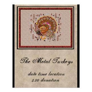Métal Turquie Prospectus 11,4 Cm X 14,2 Cm