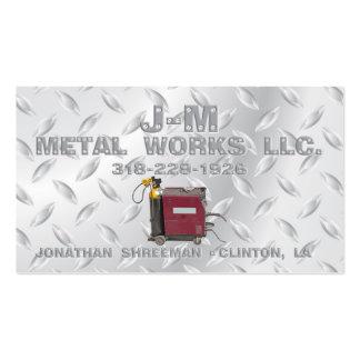 Métaux ouvrés de la JM Carte De Visite Standard