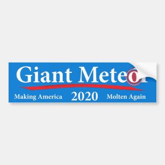 Météore géant 2020 Amérique de fabrication fondue Autocollant De Voiture