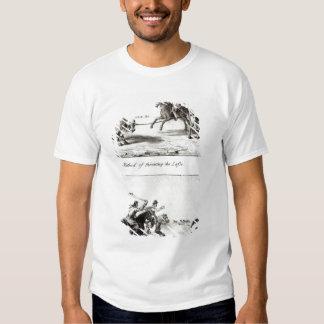 Méthodes de jeter le lasso et le Bolas T-shirt