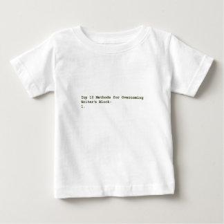 Méthodes du principal 10 pour surmonter le bloc de t-shirt pour bébé