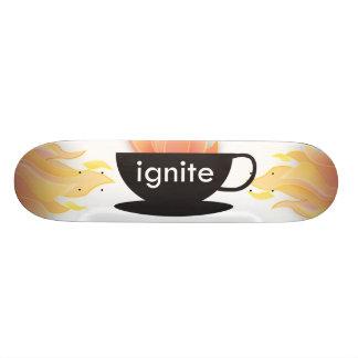 Mettez à feu : La planche à roulettes ! Skateboards