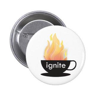 Mettez à feu : Le bouton Pin's