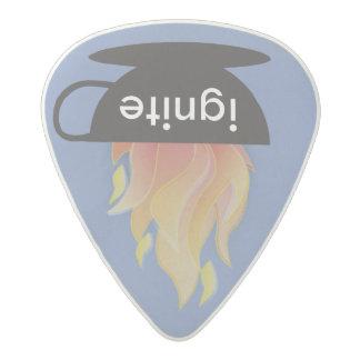 Mettez à feu : L'onglet de guitare Médiator Acetal