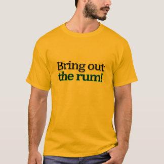 Mettez en évidence le T-shirt de rhum