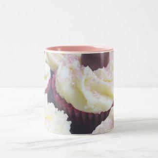 Mettez en forme de tasse un gâteau (^-. - ^)