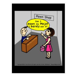METTEZ EN GAGE MA bande dessinée drôle sarcastique Carte Postale