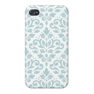 Mettez en rouleau le bleu d'oeufs de canard coques iPhone 4/4S