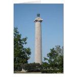 Mettre-Dans-Baie, Ohio, le monument de Perry Cartes De Vœux