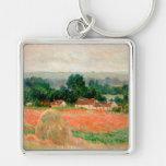 Meule de foin chez Giverny, Claude Monet Porte-clés