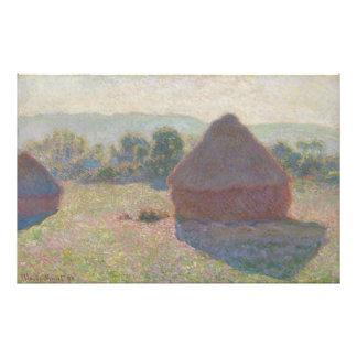 Meules de foin, midi par Claude Monet Photographe
