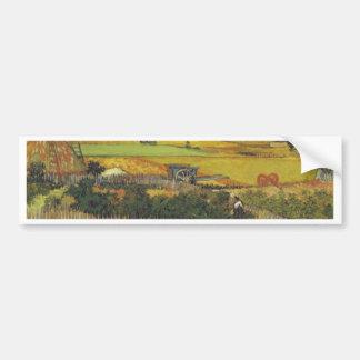 Meurent Ernte. Arles, CA 12. Juni 1888 Autocollant Pour Voiture