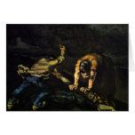 Meurtre, par Paul Cézanne (la meilleure qualité) Cartes De Vœux