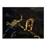 Meurtre, par Paul Cézanne (la meilleure qualité) Carte Postale