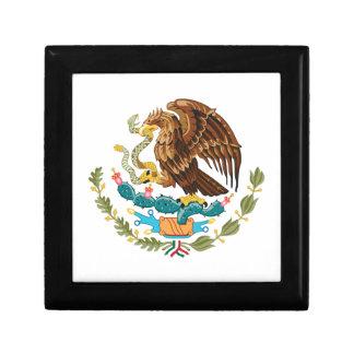 Mexicain Eagle et serpent Boîte À Souvenirs