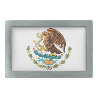 Mexicain Eagle et serpent Boucle De Ceinture Rectangulaire