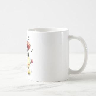 Mexicain Tux Mug Blanc