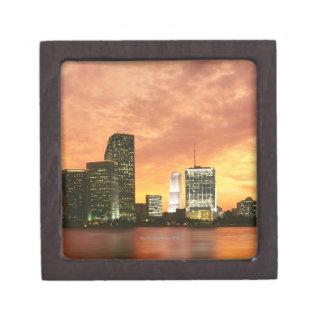 Miami au coucher du soleil coffret cadeau de première qualité