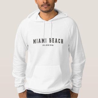 Miami Beach la Floride Pull À Capuche