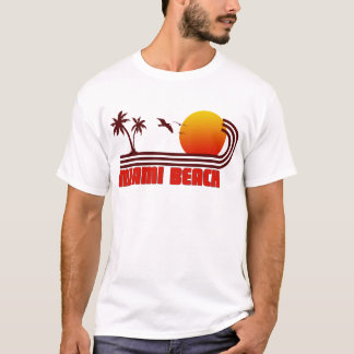 Miami Beach, la Floride T-shirt