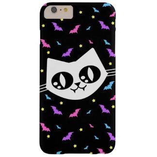 Miaulent les chauves-souris de chat de Kawaii de Coque iPhone 6 Plus Barely There