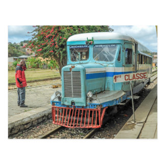 Michelin Railbus MZ 516 - le Madagascar Carte Postale