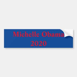 Michelle Obama pour le président en 2020 Autocollant De Voiture
