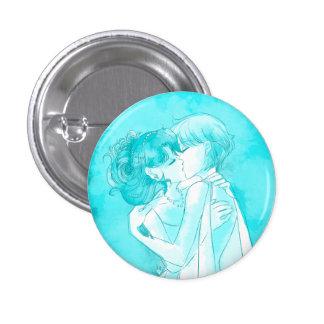 Michiru et Haruka - bouton de mariage Badge