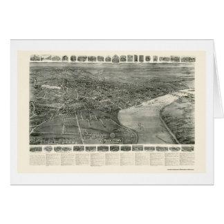 Middletown, carte panoramique de CT - 1915