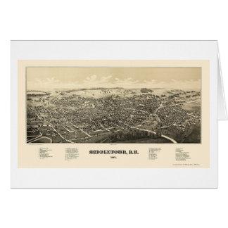 Middletown, carte panoramique de NY - 1887