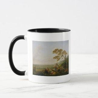 Midi, d'une série les quatre heures du mugs