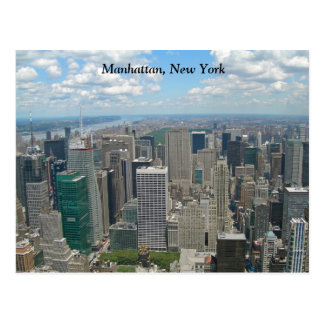 Midtown Manhattan New York City Carte Postale