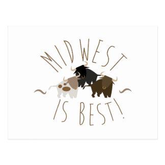 Midwest est le meilleur ! cartes postales