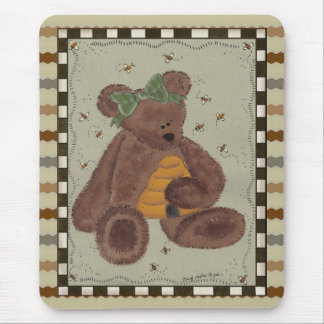 Miel d'ours de nounours tapis de souris