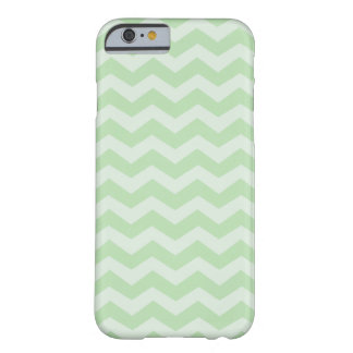 Miellée et menthe Chevron vert Coque Barely There iPhone 6