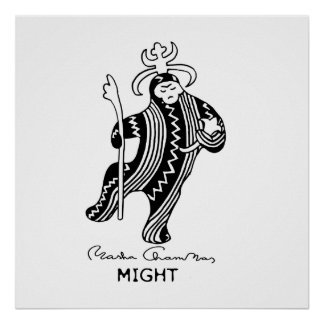 Might, poster