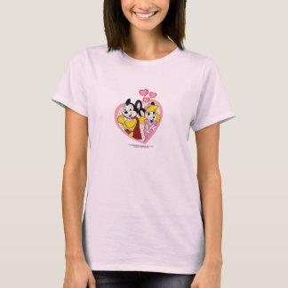 Mighty Mouse dans le T-shirt d'amour
