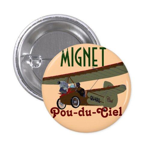 Mignet Pou-du-Ciel KRS Badge Avec Épingle