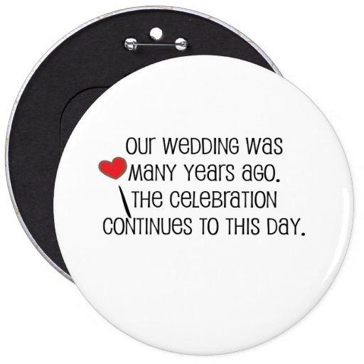 """Mignon, citation de mariage de """"notre mariage"""" badge"""